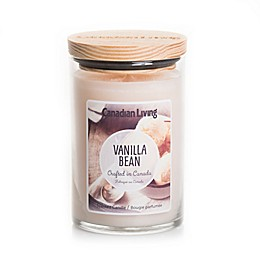 Canadian Living Vanilla Bean 10 oz. Jar Candle