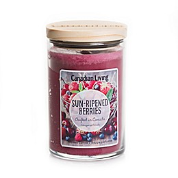 Canadian Living Sun Ripened Berries 10 oz. Jar Candle