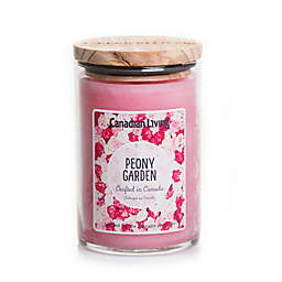 Canadian Living Peony Garden 10 oz. Jar Candle