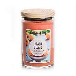 Canadian Living Peach Gelato 10 oz. Jar Candle