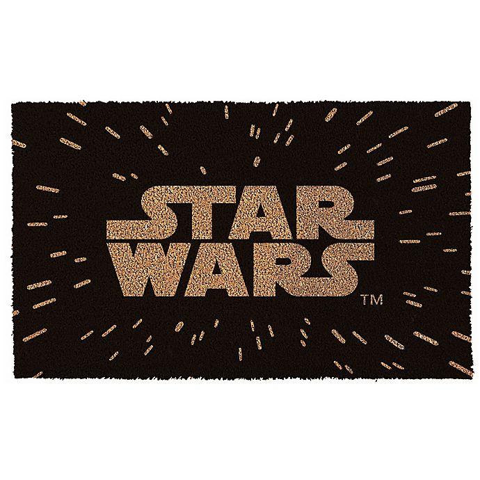 Star Wars Logo 17 Inch X 29 Inch Door Mat Bed Bath And Beyond Canada