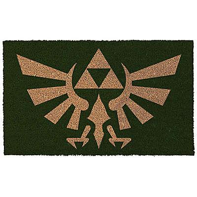 Zelda Crest 17-Inch x 29-Inch Door Mat