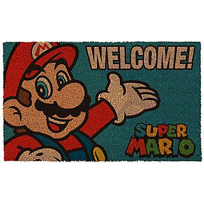 Mario Portrait 17-Inch x 29-Inch Door Mat