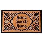 Home Sweet Home  16-Inch x 28-Inch Coir Door Mat