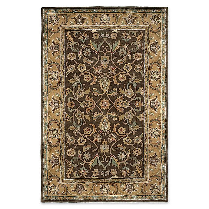 Alternate image 1 for Kaleen Mystic William 9-Foot 6-Inch x 13-Foot Area Rug in Chocolate