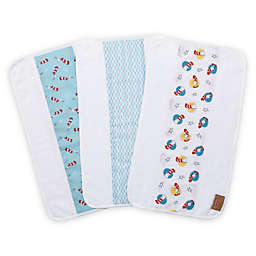 Trend Lab® Dr. Seuss Cat in the Hat 3-Pack Jumbo Burp Cloth Set