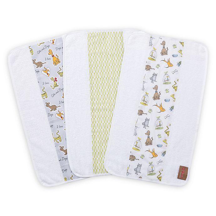 Alternate image 1 for Trend Lab® Dr. Seuss What Pet Should I Get 3-Pack Jumbo Burp Cloth Set