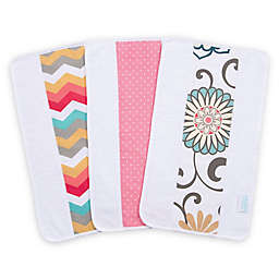 Trend Lab® Waverly Baby Pom Pom Play 3-Pack Jumbo Burp Cloth Set