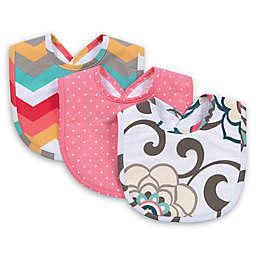 Trend Lab® Waverly Baby Pom Pom Play 3-Pack Pom Pom Play Bib Set