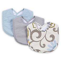 Trend Lab® Waverly Baby 3-Pack Pom Pom Spa Bib Set