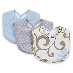 Trend Lab® Waverly Baby 3-Pack Pom Pom Spa Bib Set