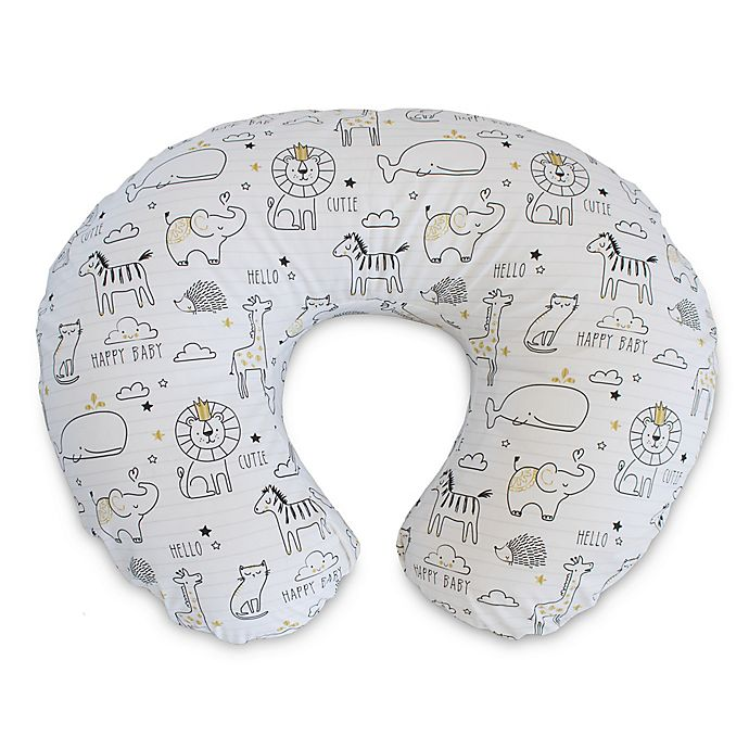 Alternate image 1 for Boppy® Nursing Pillow and Positioner in Notebook Black/White