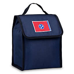 State of Mind Tennessee Flag Lunch Bag in Blue