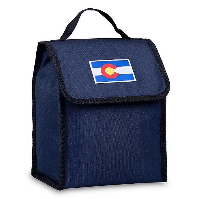 Alternate image 1 for State of Mind Colorado Flag Lunch Bag in Blue