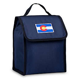 State of Mind Colorado Flag Lunch Bag in Blue