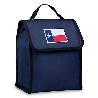 State of Mind Texas Flag Lunch Bag in Blue