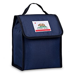 State of Mind California Flag Lunch Bag in Blue