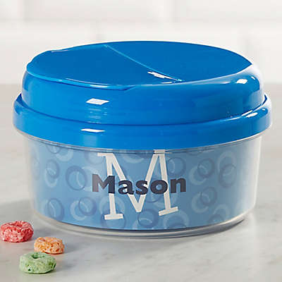 Just Me Toddler Snack Cup in Blue