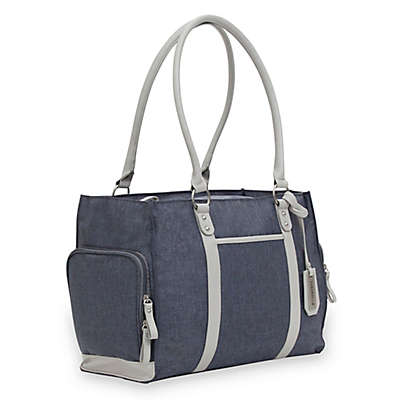 Bananafish Charlotte Breast Pump Tote Bag in Grey