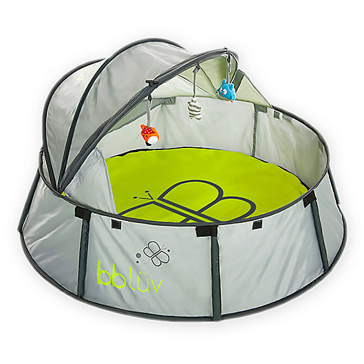Alternate image 1 for bbluv® Nido 2 in 1 Travel Bed and Play Tent