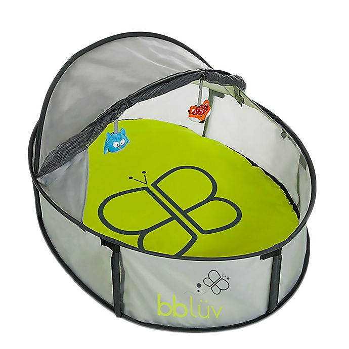 Alternate image 1 for bbluv® Nido Mini 2 in 1 Travel Bed and Play Tent