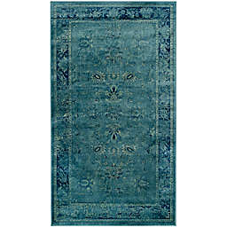 Safavieh Vintage Palace 2'2 x 6' Runner in Turquoise