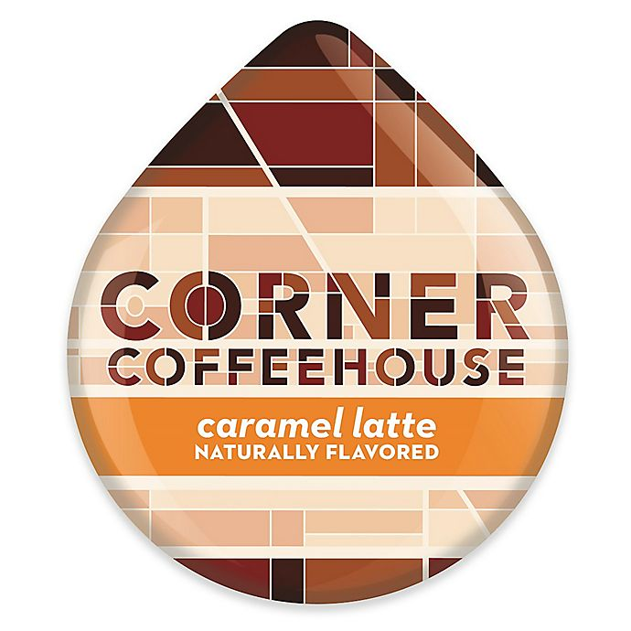 Alternate image 1 for Corner Coffeehouse 8-Count Caramel Latte T DISCs for Tassimo™ Beverage System