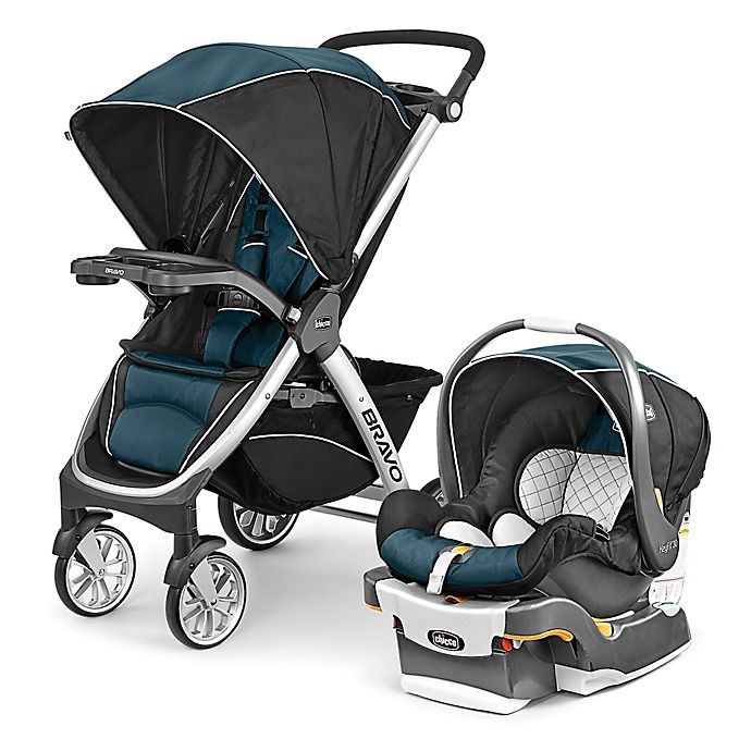 Alternate image 1 for Chicco® Bravo® Trio Travel System in Lake
