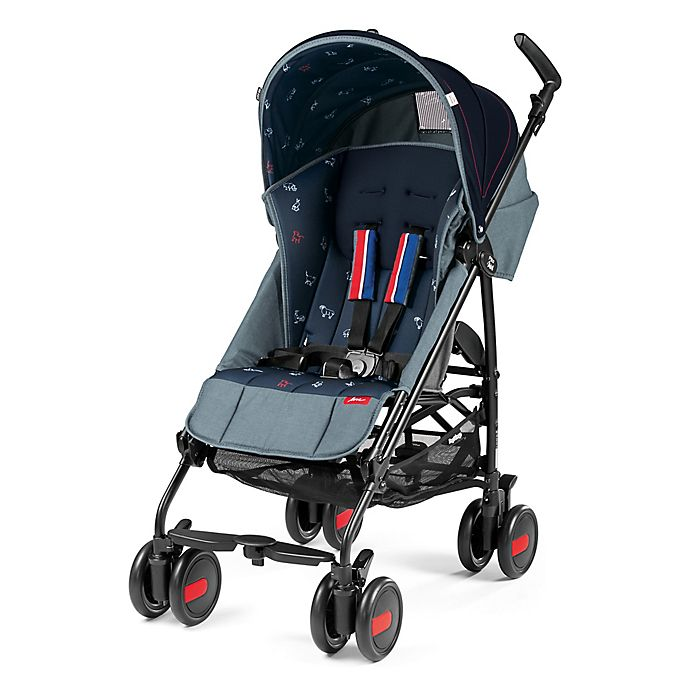 Alternate image 1 for ED Ellen DeGeneres crafted by Peg Perego Pliko Mini Stroller in Navy