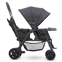 Joovy® Caboose Too Graphite Stand-On Tandem Stroller in Black