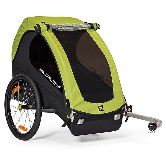 Alternate image 1 for Burley Minnow™ Bike Trailer in Green