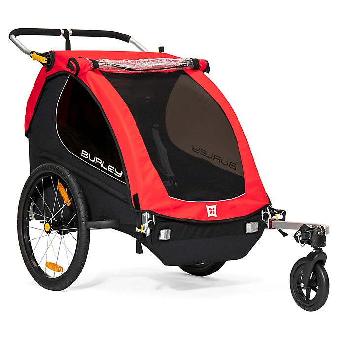 Alternate image 1 for Burley Honey Bee™ Bike Trailer in Red