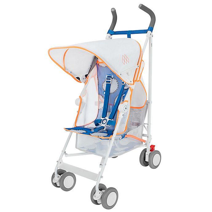 Alternate image 1 for Maclaren® 2017 Volo Stroller in White/Neon Orange