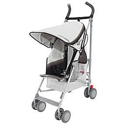 Maclaren® One-Size Volo Wing Knit Stroller in Black/Grey