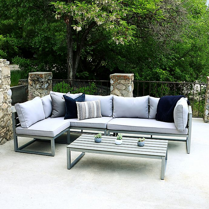 Outdoor Furniture Contemporary: Forest Gate Modern Outdoor Furniture Collection