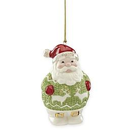 Lenox® Holiday Gems Santa Ornament