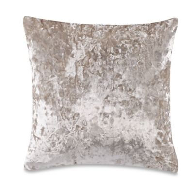 Monogram Pillows On Bed