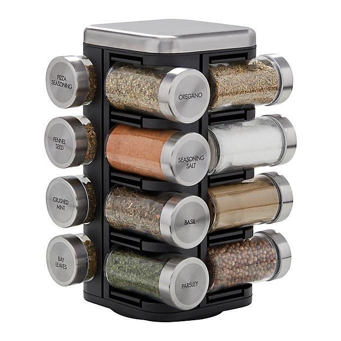 Alternate image 1 for Kamenstein® 16-Jar Plaza Spice Rack