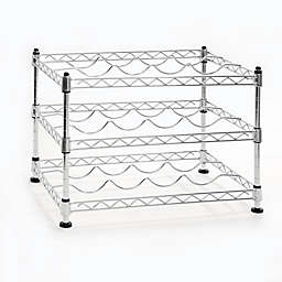Seville Clics Ultrazinc 12 Bottle Mini Wine Rack