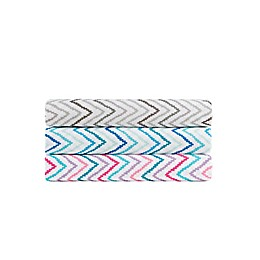 Intelligent Design Multicolor Chevron Printed Sheet Set