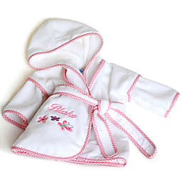 Silly Phillie® Creations Terry Velour Hooded Bathrobe in Pink