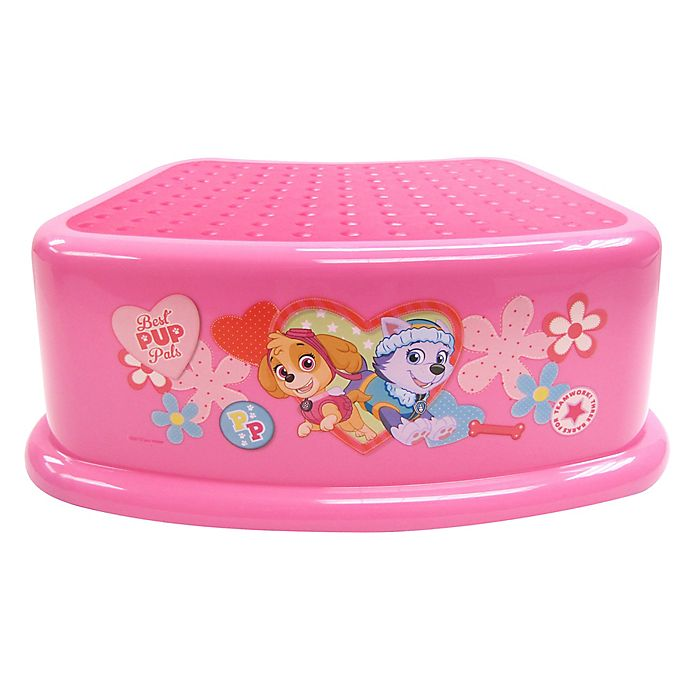 Alternate image 1 for Nickelodeon® Paw Patrol Skye and Everest Step Stool