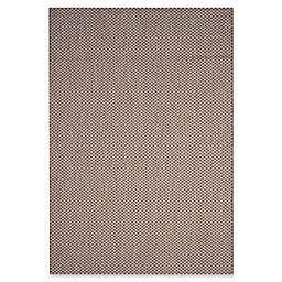 Safavieh Courtyard Check Indoor/Outdoor 5-Foot 3-Inch x 7-Foot 7-Inch Area Rug in Light Brown/Grey