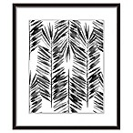 PTM Images  The Black Palms I  17.5-Inch x 21.5-Inch Print Wall Art
