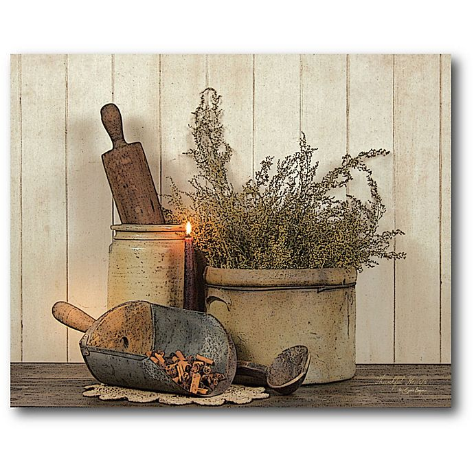 Alternate image 1 for Courtside Market Country Cooking 20-Inch x 16-Inch Canvas Wall Art