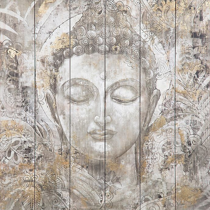 Alternate image 1 for Buddha 30-Inch x 30-Inch Wood Wall Art