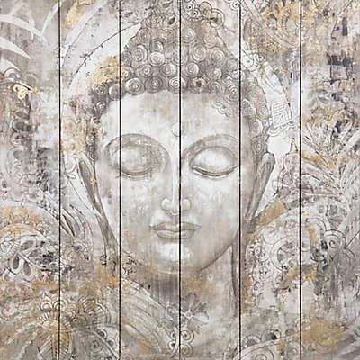 Buddha 30-Inch x 30-Inch Wood Wall Art