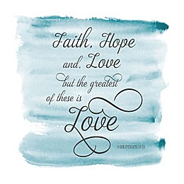 Courtside Market Faith Hope & Love Wall Decal