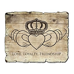 Courtside Market Loyalty and Friendship 24-Inch x 16-Inch Wall Decal