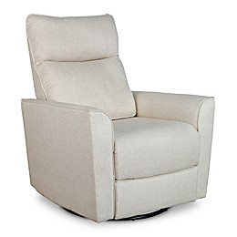 Baby Appleseed® Crosby Comfort Swivel Glider in Canvas